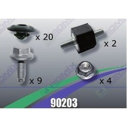 Tornilleria Protector Carter Ford, Seat, Volks 90203