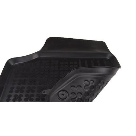 Alfombrilla Goma Caucho Negra Seat, Volkswagen, Skoda 200206